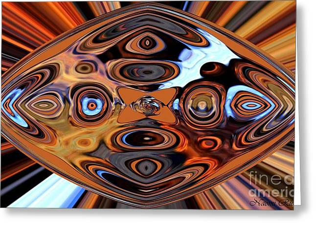 Metallic Sheets Greeting Cards - Rust Can Be Beautiful VIII Greeting Card by Naomi Richmond