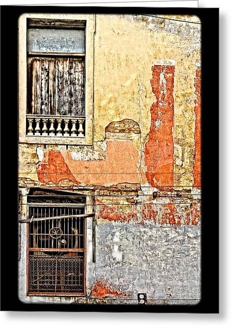 Grate Greeting Cards - Rust Greeting Card by Dawn Currie