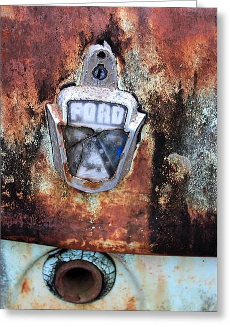 Ford Customline Greeting Cards - Rust in peace. Greeting Card by Ian  Ramsay