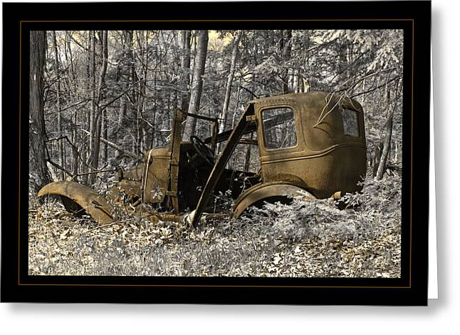Ford Model A Greeting Cards - Rust In Peace Greeting Card by John Stephens