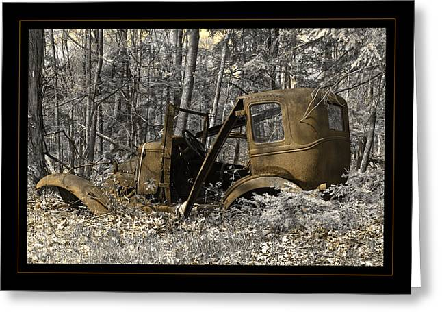 Rust In Peace Greeting Card by John Stephens