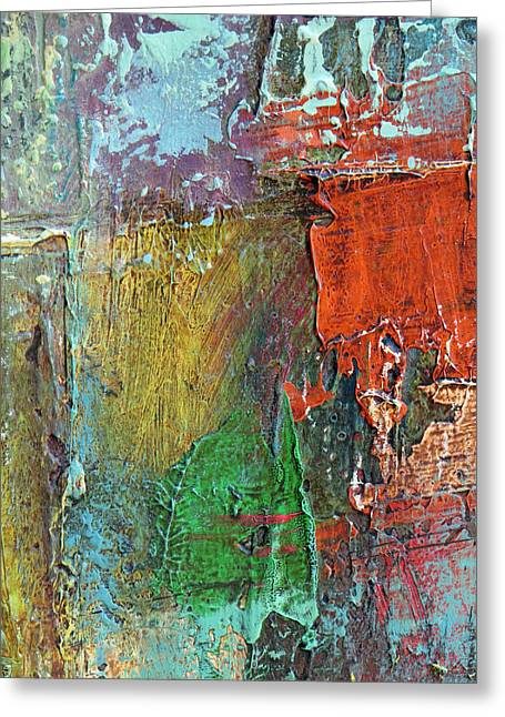 Subjective Greeting Cards - Rust Greeting Card by Katie Black