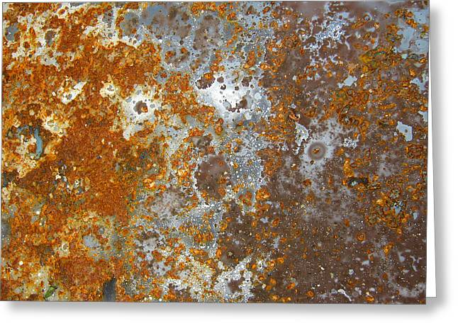 Surface Greeting Cards - Rust never sleeps Greeting Card by Les Cunliffe