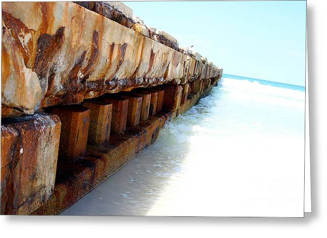 Bradenton Greeting Cards - Rust Greeting Card by Ryan Burton