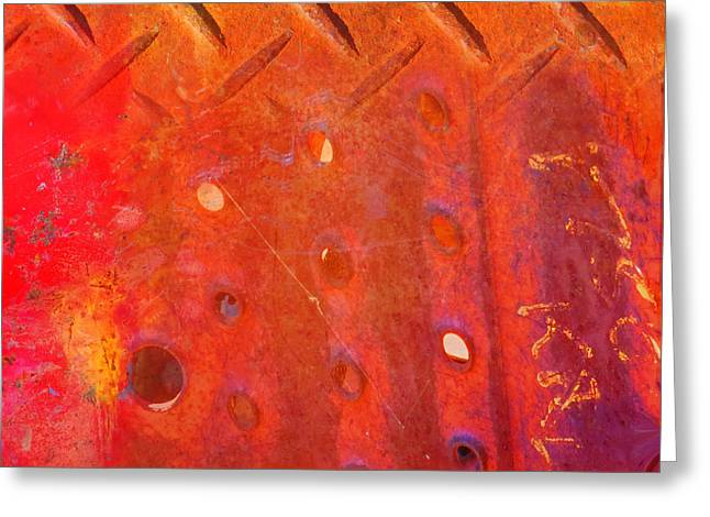 Desiree Paquette Greeting Cards - Rusted Glory 10 Greeting Card by Desiree Paquette