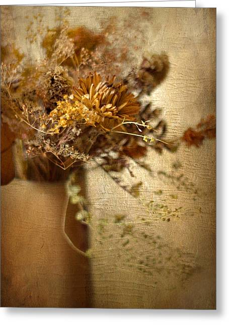 Rustic Arrangement Greeting Card by Jessica Jenney