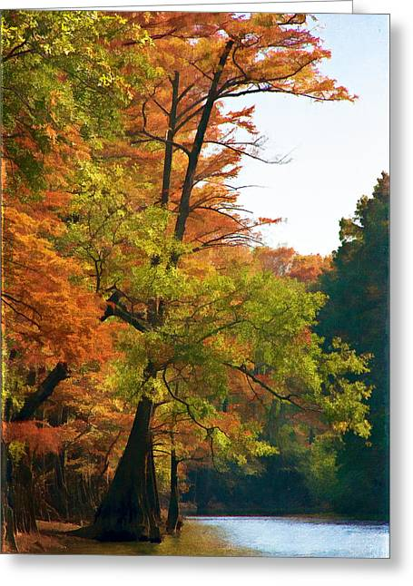 Rustic Autumn Greeting Card by Lana Trussell