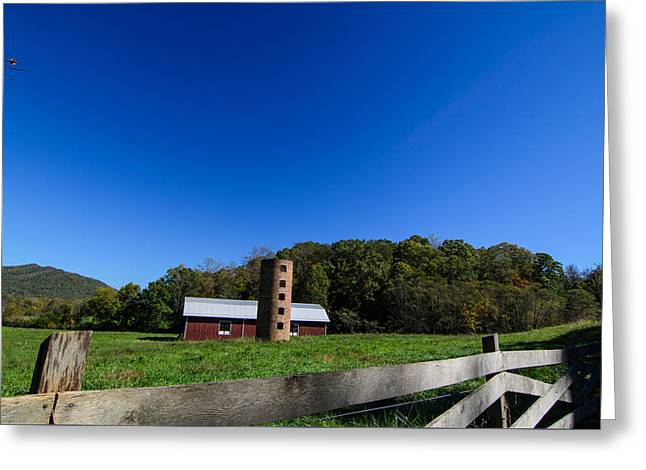 Warren Wilson College Greeting Cards - Rustic Barn in WNC Greeting Card by Hunter Ward