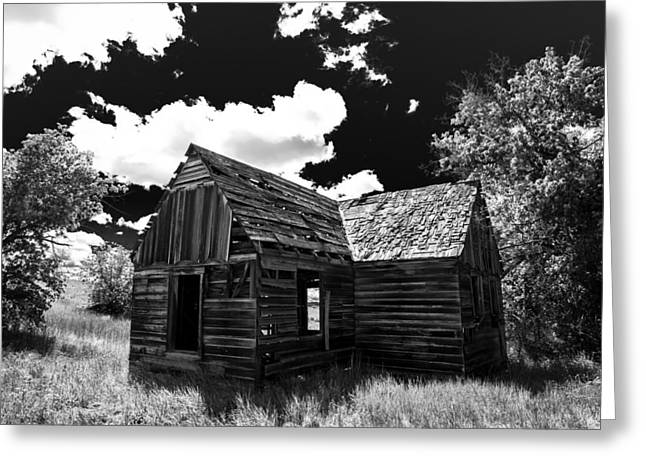 Surprise Greeting Cards - Rustic Barn Greeting Card by Scott McGuire