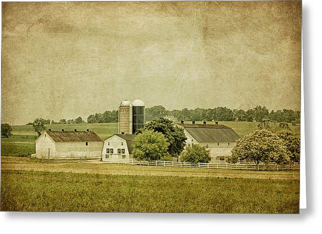 Kim Photographs Greeting Cards - Rustic Farm - Barn Greeting Card by Kim Hojnacki