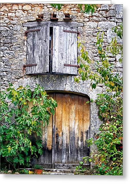 Rustic House Greeting Cards - Rustic House Greeting Card by Nomad Art And  Design