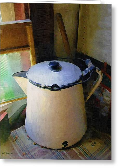 Corner Kitchen Greeting Cards - Rustic Relics Greeting Card by RC deWinter