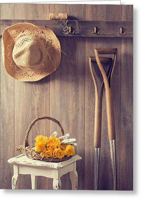 Rack Greeting Cards - Rustic Shed Greeting Card by Amanda And Christopher Elwell