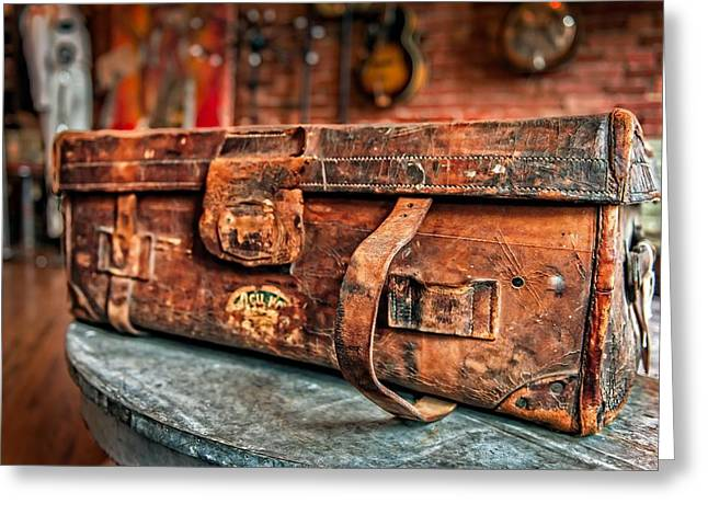 Rustic Trunk Greeting Card by Brett Engle