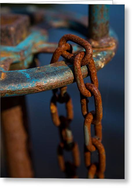 Turquois Greeting Cards - Rusty 2 Greeting Card by Karol  Livote