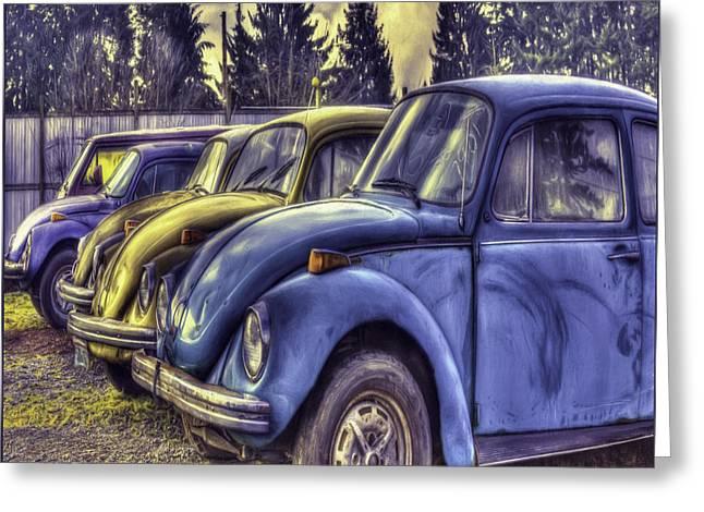 Youthful Greeting Cards - Rusty Bugs Greeting Card by Jean OKeeffe Macro Abundance Art