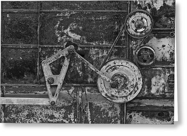 Rusty Gears Greeting Cards - Rusty Gears Greeting Card by Mountain Dreams