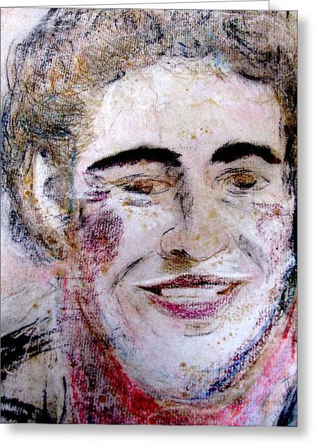 Ruthie's Bruce Greeting Card by Melinda Saminski