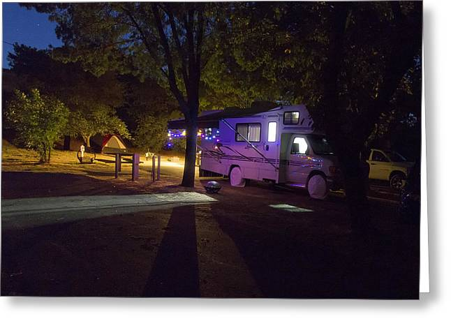 Rving In Solano  Greeting Card by Newman Artography