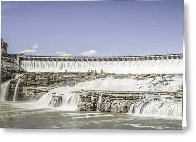 Greatest Generation Greeting Cards - Ryan Dam Greeting Card by Thomas Young