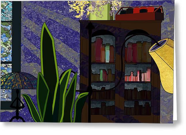 Interior Still Life Digital Greeting Cards - Ryans Home Greeting Card by Grant  Van Zevern