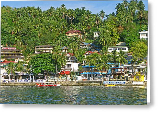 Entspannen Greeting Cards - Sabang Greeting Card by Pete Marchetto