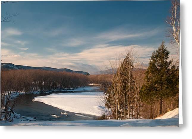 Saco River Greeting Cards - Saco River Greeting Card by Paul Mangold