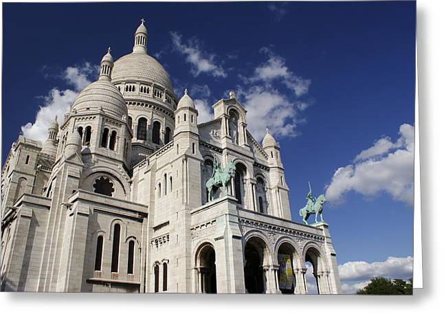 Sacre Coeur Paris Greeting Card by Gary Eason