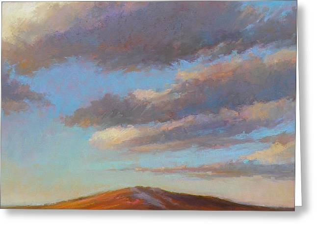 Sacred Dune Greeting Card by Ed Chesnovitch