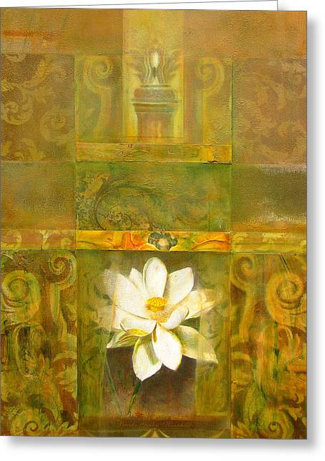 Eternal Inspirational Greeting Cards - Sacred Places Greeting Card by Brooks Garten Hauschild