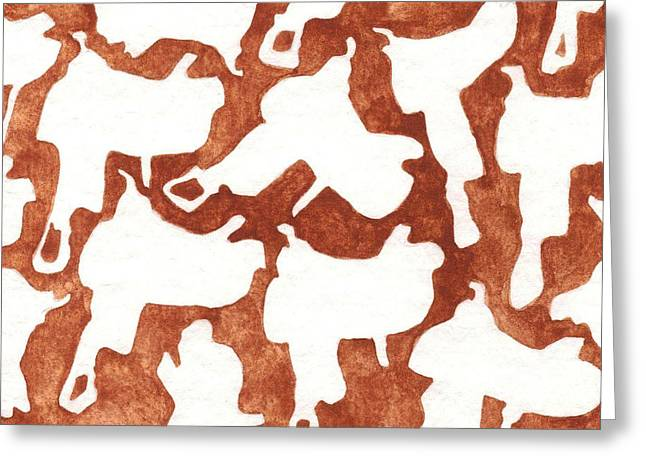 Southwest Greeting Cards - Saddle Up Oklahoma Red Dirt Artwork TM Greeting Card by Tanya Provines