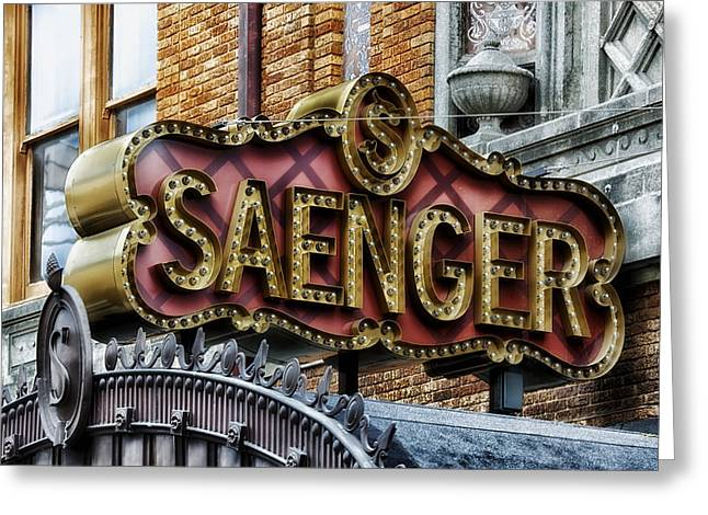 Saenger Theatre - Mobile Alabama Greeting Card by Mountain Dreams