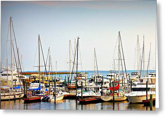 Safe Harbor Greeting Card by Reid Callaway