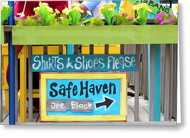 Safe Haven Greeting Cards - Safe Haven This Way Greeting Card by Don Margulis