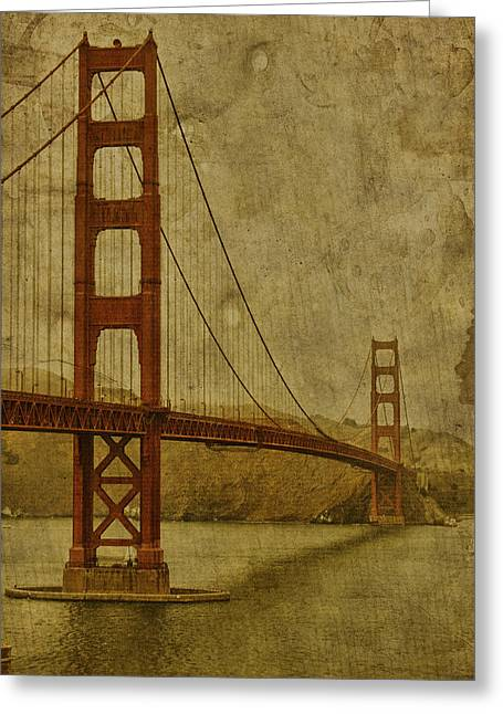 San Francisco Golden Gate Bridge Greeting Cards - Safe Passage Greeting Card by Andrew Paranavitana