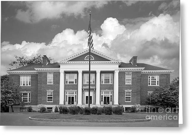 Occasion Greeting Cards - Sage College Administration Building Greeting Card by University Icons