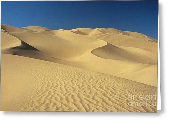 Northern Africa Greeting Cards - Sahara Desert, Algeria Greeting Card by Jaffre/Explorer