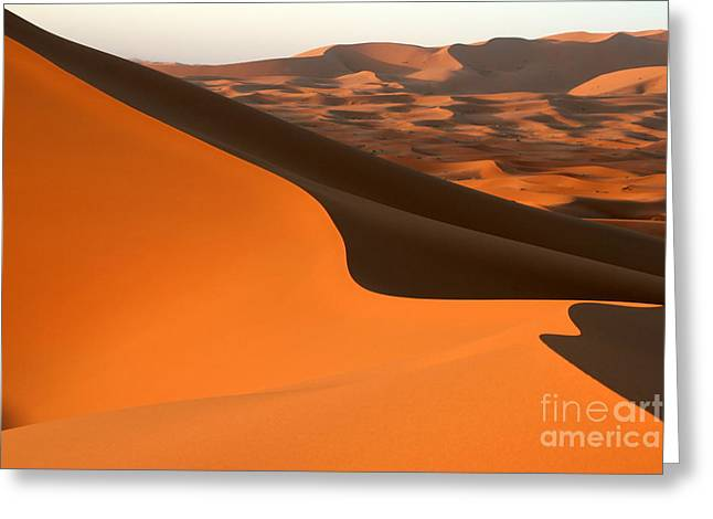 Sahara Desert Dune Greeting Card by Arie Arik Chen