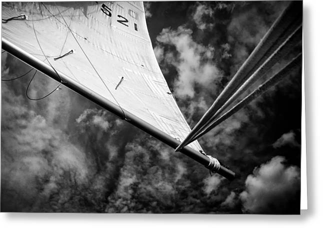 Sail Greeting Card by Stelios Kleanthous