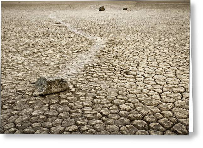 Slide Rock Greeting Cards - Sailing stones Greeting Card by Eduard Moldoveanu