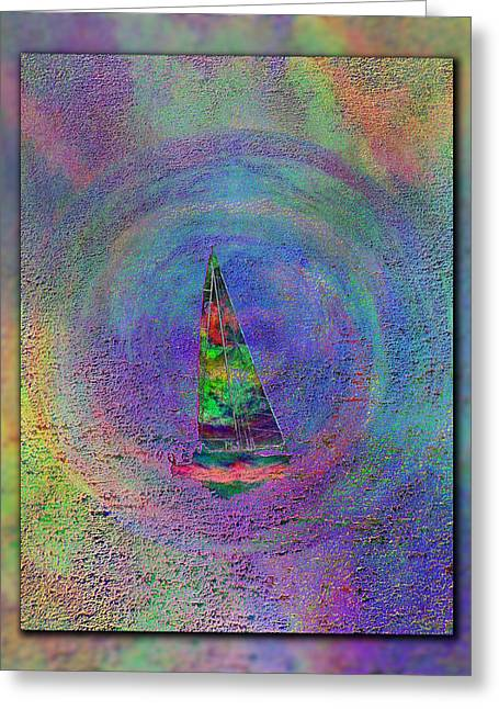 Gusts Greeting Cards - Sailors Gauntlet Greeting Card by Tim Allen
