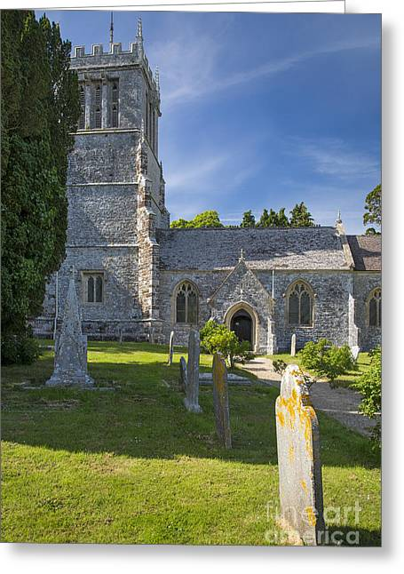 Headstones Greeting Cards - Saint Andrews - Lulworth Greeting Card by Brian Jannsen