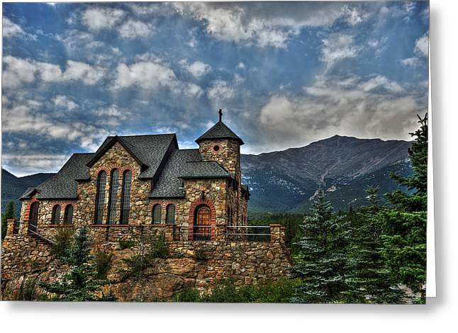 Saint Catherine Greeting Cards - Saint Catherine of Siena Chapel Greeting Card by Alex Owen