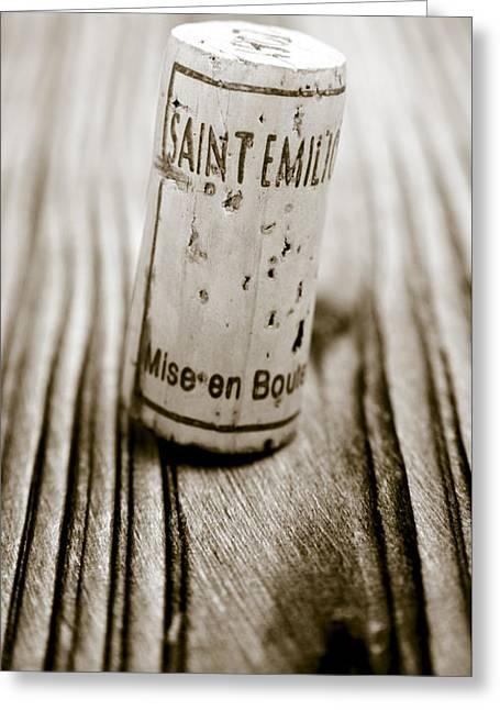 Saint Emilion Wine Greeting Card by Frank Tschakert