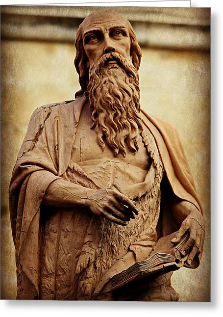 The Church Greeting Cards - Saint Jerome Greeting Card by Stephen Stookey