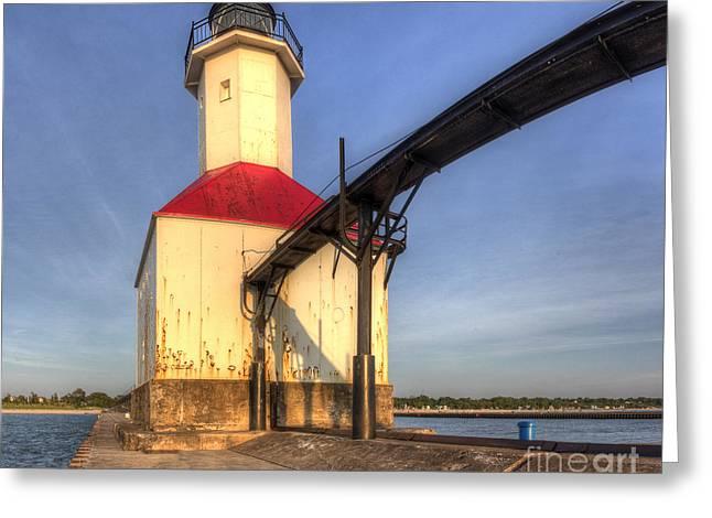 Saint Joseph Inner Range Lighthouse Greeting Card by Twenty Two North Photography
