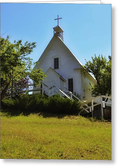 Saint Joseph Greeting Cards - Saint Josephs Catholic Church Greeting Card by Image Takers Photography LLC