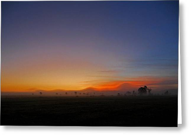 Matin Greeting Cards - Saint-Lin Laurentides - QC Greeting Card by Juergen Weiss