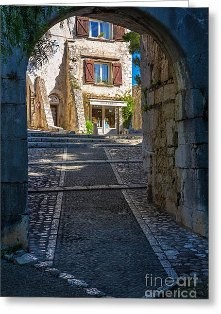 French Door Greeting Cards - Saint Paul Entrance Greeting Card by Inge Johnsson
