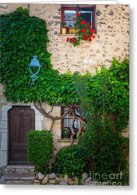 Vence Greeting Cards - Saint Paul Home Greeting Card by Inge Johnsson